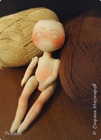 Меня давно просили показать выкройку и процесс создания куклы, так что сегодня - фотоотчет с последней работы. фото 6