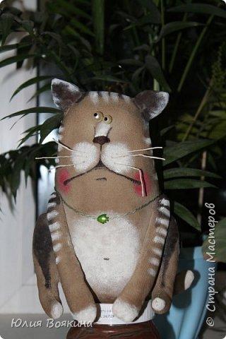 Здравствуйте! Сшила котейку в подарок маленькой девочке на 8 марта. фото 4