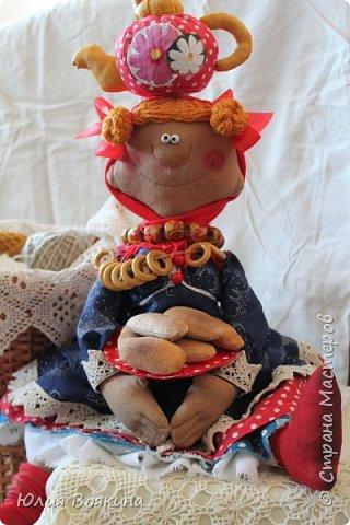 Добрый день! Я очень хотела прогнать зиму, тоску и плохое настроение, поэтому сшила вот такую куклу. Да, это снова повторюшка за моим любимым мастером Татьяной Козыревой, но моя получилась ушастая. фото 1