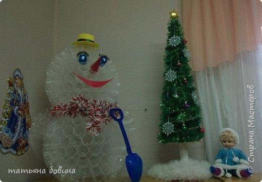 снеговик у ёлки фото 3