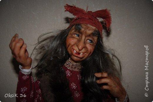 """Говорят,что в доме должна быть баба-Яга.Она якобы своим видом злых духов отгоняет.Вот я и решила попробовать создать такую""""красоту"""" фото 5"""