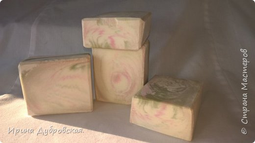 """Кастильское мыло на 100% оливкового масла. Техника свирления """" Бабочка"""". фото 4"""