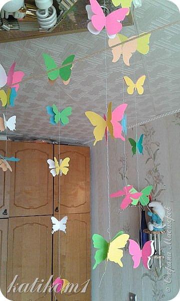 Вот такую единичку сделала для дочурки, муж соорудил каркас, я оформила. Захотелось что-нибудь такое, не как у всех)))) фото 5