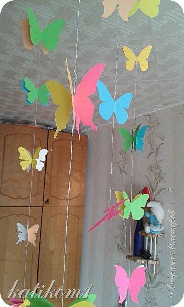 Вот такую единичку сделала для дочурки, муж соорудил каркас, я оформила. Захотелось что-нибудь такое, не как у всех)))) фото 6