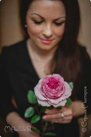 Здравствуйте жители страны! На этот раз розы. И немного фото из моего интервью по керамической флористике! Пионовидная роза, спасибо Инне Голубевой за мастер-класс и вдохновение!!!!!! фото 4