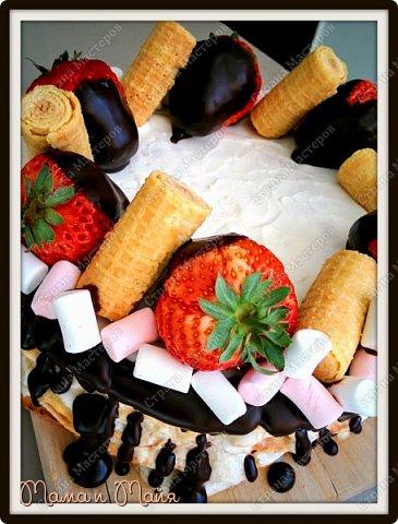 Очень простой в исполнении торт для тех, кто хочет сладенького к чаю и немедленно))))  фото 2