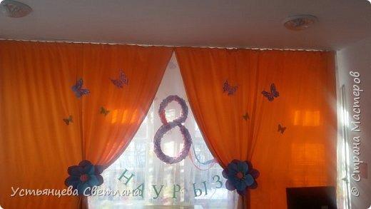 Оформление зала на 8 марта фото 1