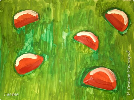 Как,иногда, приятно зимой,ранней весной вспомнить о теплом лете.Божьи коровки,наверное,самые яркие представители этого времени года.И их так легко и интересно рисовать деткам.А всего то надо,найти лист бумаги и гуашевые краски.И так,приступим! фото 6