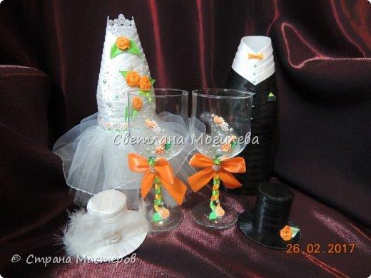 Доброго времени суток Мастера и Мастерицы! На заказ делала набор для свадьбы. Когда сделала, задумалась как унесет невеста всю эту красоту? И...нашла МК Мышечки и вот что получилось. фото 4