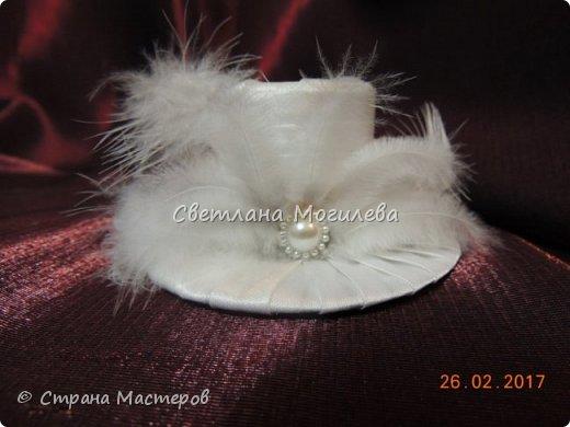 Доброго времени суток Мастера и Мастерицы! На заказ делала набор для свадьбы. Когда сделала, задумалась как унесет невеста всю эту красоту? И...нашла МК Мышечки и вот что получилось. фото 7