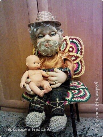 Домовой Будулайчик , моя первая кукла сделана под руководством Ирины Батыревой. фото 3