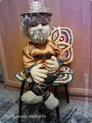 Домовой Будулайчик , моя первая кукла сделана под руководством Ирины Батыревой. фото 1