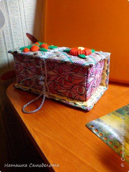 не судите строго)))мою первую карявенькую коробочку)))и сильно не смейтесь,договорились???)))))) фото 2