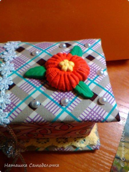 не судите строго)))мою первую карявенькую коробочку)))и сильно не смейтесь,договорились???)))))) фото 4
