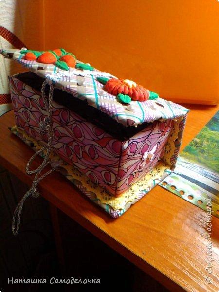 не судите строго)))мою первую карявенькую коробочку)))и сильно не смейтесь,договорились???)))))) фото 7