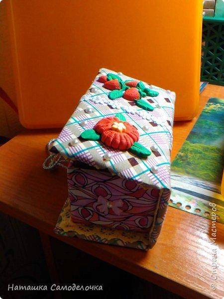 не судите строго)))мою первую карявенькую коробочку)))и сильно не смейтесь,договорились???)))))) фото 9
