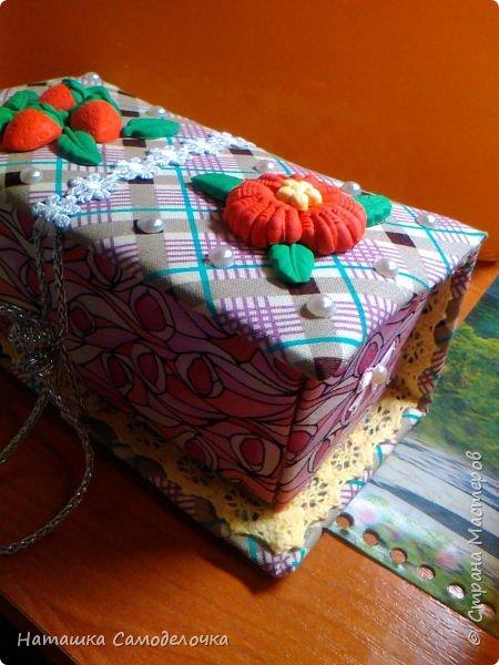 не судите строго)))мою первую карявенькую коробочку)))и сильно не смейтесь,договорились???)))))) фото 10