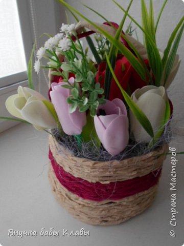 Все мои лукошки полные цветов))))) фото 7