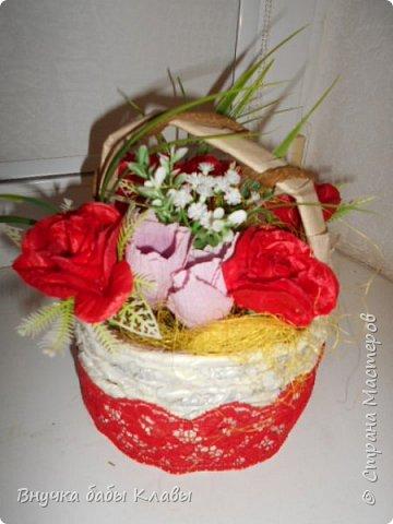 Все мои лукошки полные цветов))))) фото 12