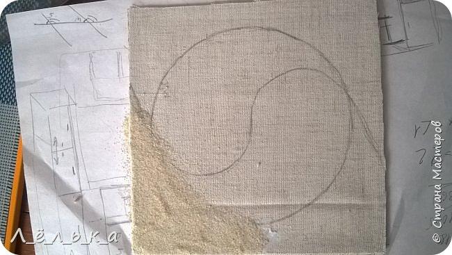 Инь-Янь из морской гальки (белая и черная) фото 4