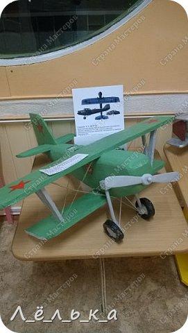 """Всех приветствую. Для своих деток и """"луну с неба"""" и самолет и пенопласта ))))). Модель самолета ко дню гражданской авиации в детский сад. Было задание сделать большую модель (50 см х 50 см) самолета 20-х годов. фото 23"""