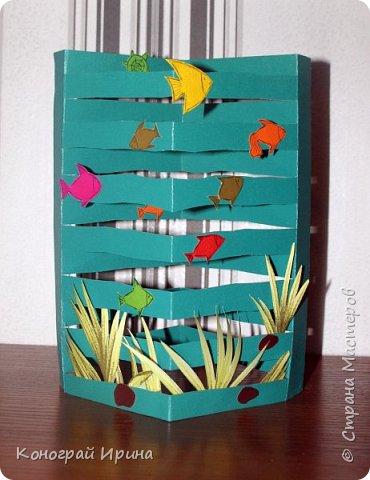 Для поделки понадобилось: цветной картон, цветная бумага, клей, ножницы. фото 1