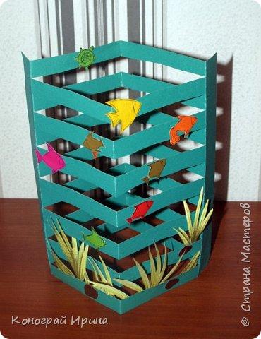 Для поделки понадобилось: цветной картон, цветная бумага, клей, ножницы. фото 12