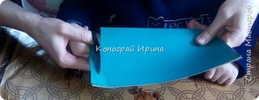 Для поделки понадобилось: цветной картон, цветная бумага, клей, ножницы. фото 4