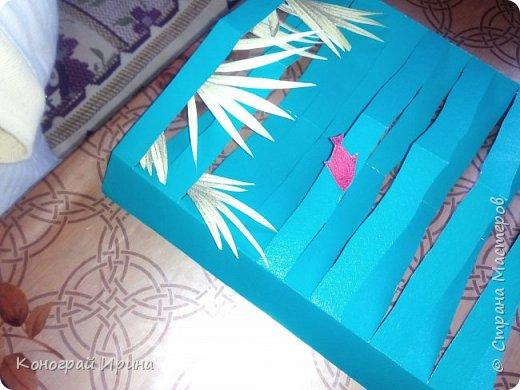 Для поделки понадобилось: цветной картон, цветная бумага, клей, ножницы. фото 10