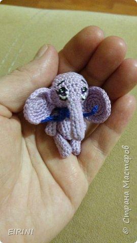 Лавандовый слоник фото 1
