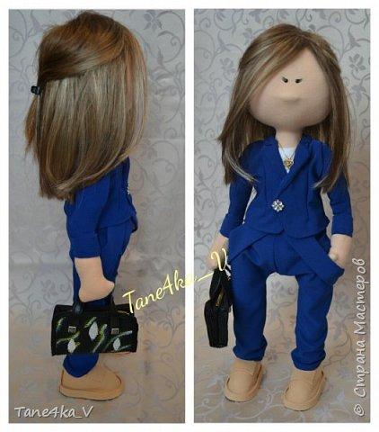Куколка. Сходство с хозяйкой в стиле и одежде  фото 2