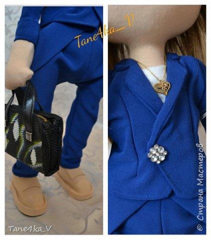 Куколка. Сходство с хозяйкой в стиле и одежде  фото 3