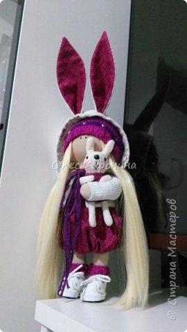 Куколка для сестры Ольги. Сделана в подарок. фото 3