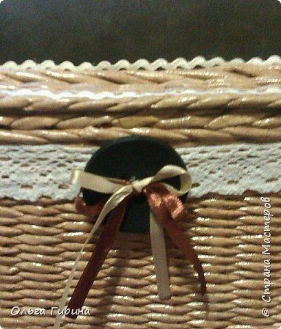 Здравствуйте,уважаемые соседи!Три года назад я уже плела себе шкатулочку-игольницу,но со временем она мне показалась ну уж очень маленькой.захотелось побольше.И тут увидела у Татьяны Беликовой овальную ииии....все хочухочухочу)))) фото 3