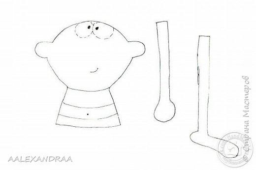 Всем привет! Вот такая куколка у меня сегодня получилась,планировалось сделать её веселой ,смешной.нарисовать просто два глаза и ротик. Но передумала и вот получилось то,что получилось))))) фото 10