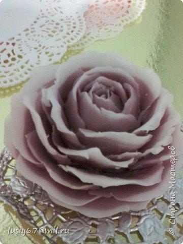 розы из мыла ручной работы, лепка фото 3