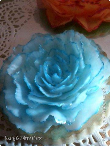 розы из мыла ручной работы, лепка фото 5