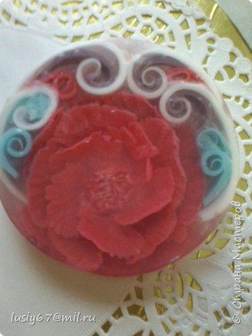 розы из мыла ручной работы, лепка фото 10