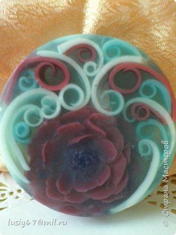 розы из мыла ручной работы, лепка фото 11