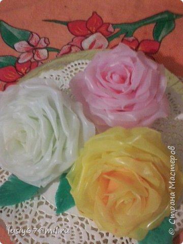 розы из мыла ручной работы, лепка фото 6