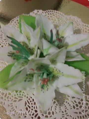 розы из мыла ручной работы, лепка фото 7