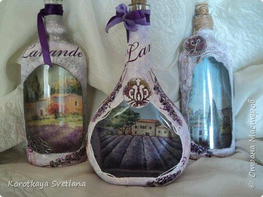 Бутылки в стиле прованс фото 1