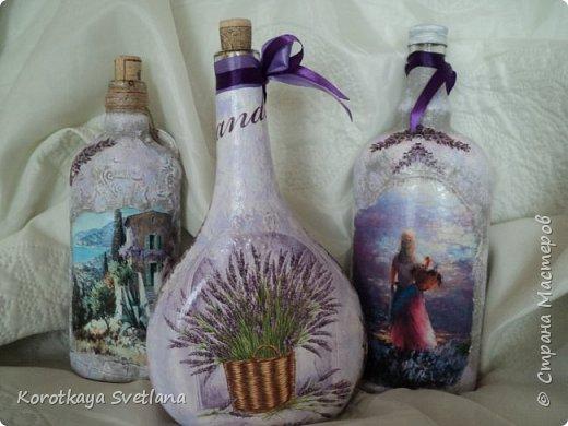 Бутылки в стиле прованс фото 2