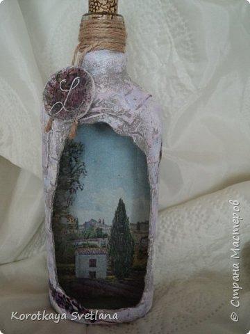 Бутылки в стиле прованс фото 7