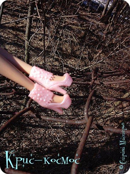 Привет, СМ! Вот я вышла на прогулку и прихватила с собой Алису. На нее связала платье-свитер по МК Мирабелы.  Давайте посмотрим.  фото 13