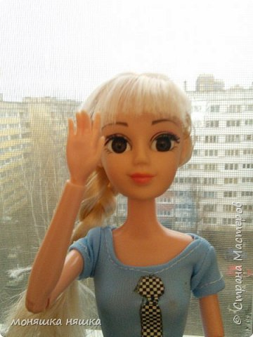 Привет! Это Марина! Подделка под куклу Лив фото 1