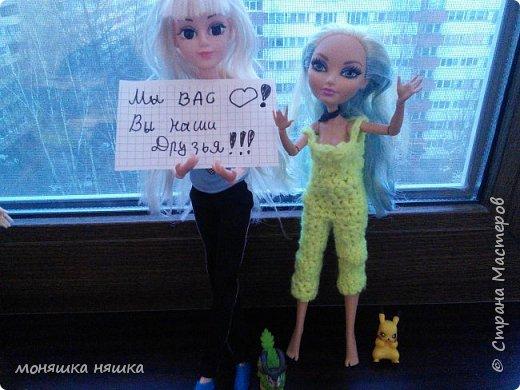 Привет! Это Марина! Подделка под куклу Лив фото 25