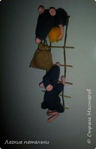 """Магнит на холодильник """"Мышки-воришки"""" фото 3"""
