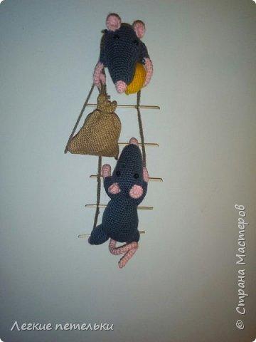 """Магнит на холодильник """"Мышки-воришки"""" фото 2"""