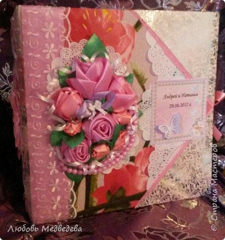 Топиарий, цветочный шар, открытки,конверты и альбомы с цветами из лент, украшения для дочки фото 11